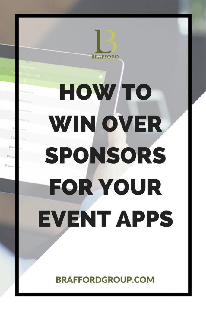 How to win over sponsors for your event apps - Pinterest Pic